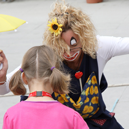 Clownerie Straßenfest