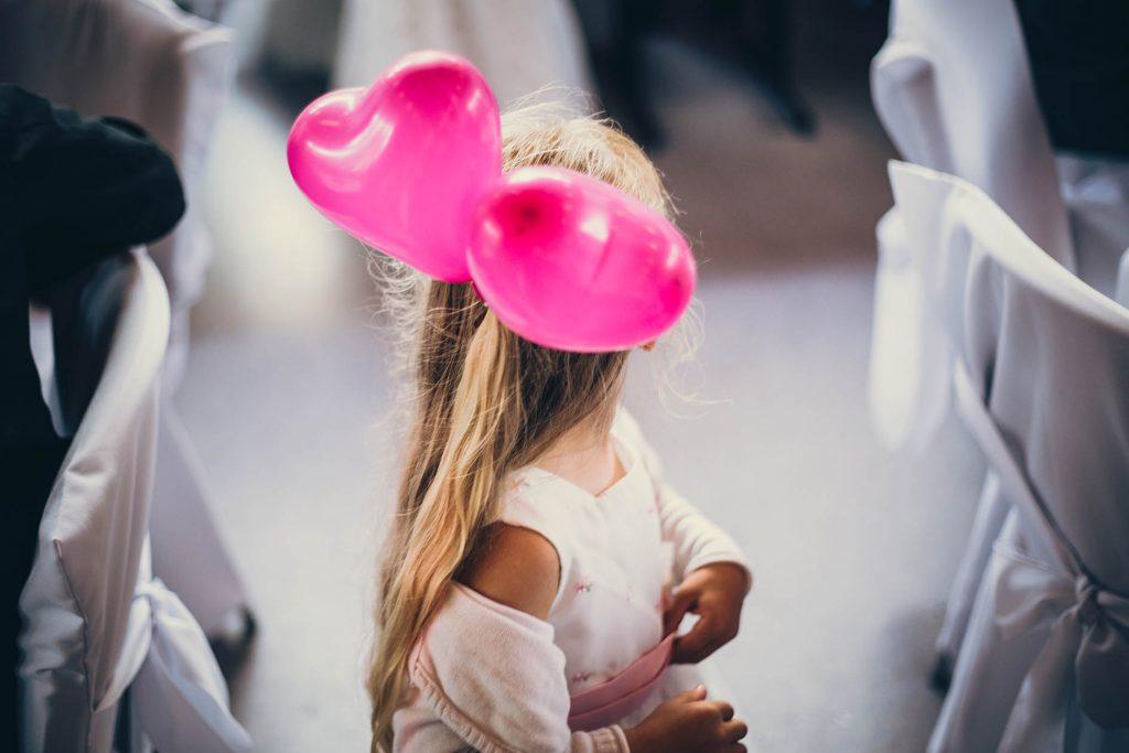 Hochzeitsdekoration Herzen
