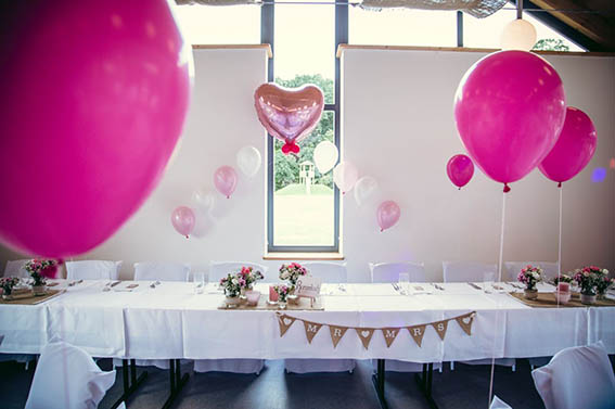 Hochzeitsdekoration Brautpaartisch