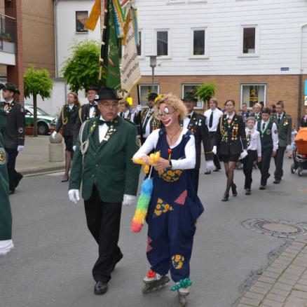 Ballonmodellage Schützenfest